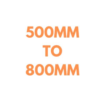 Rotating Light Bars: 500-800mm