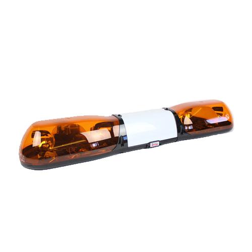Britax Aerolite 1000mm 24v 4 Rotator + Illuminated Centre Amber Lightbar - PN:A6234.200.24V
