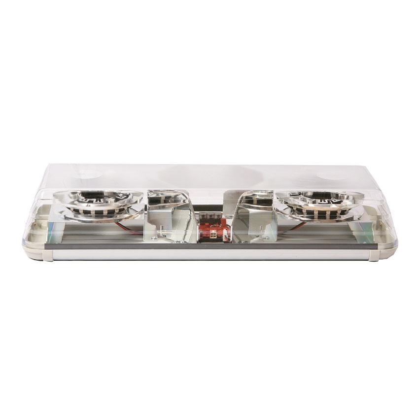 Vision Alert 570MM 2 Halo Corner Mod. 24v Amber 60 Series Halo Lightbars - PN:  60-00465-V