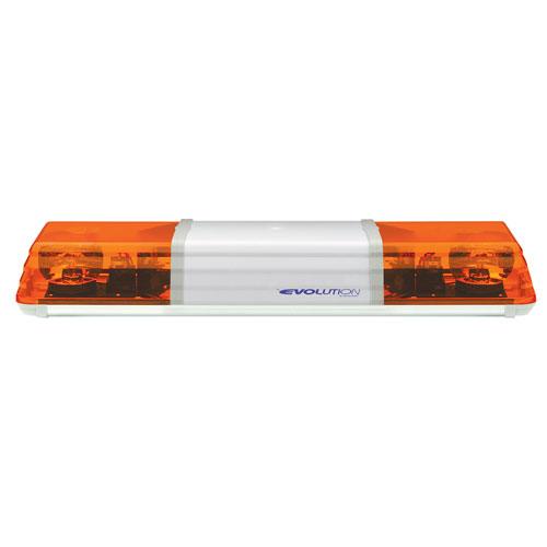 Vision Alert 742mm 2 Rotators + Illuminated Centre 24v Amber lightbar PN:602.3A02