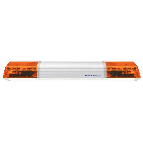 Vision Alert 1000mm 2 Rotators + Illuminated Centre 24v Amber lightbar PN: 603.3A02
