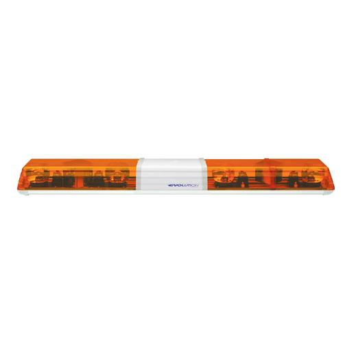 Vision Alert 1250mm 4 Rotators + LED STI + Illuminated Centre 12v Amber 60 Series lightbar PN: 624.3A01.ACAA