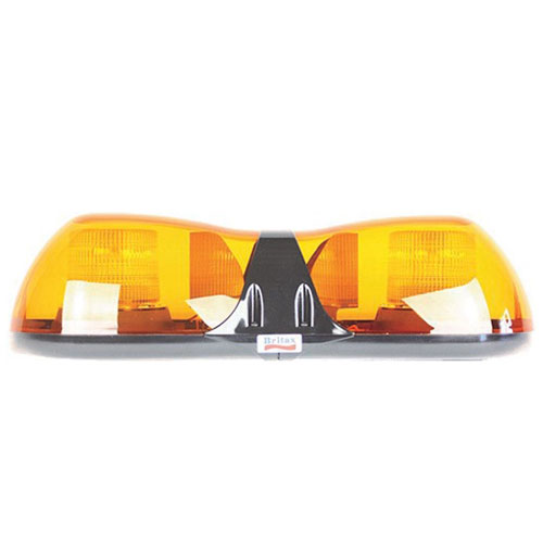 Britax Aerolite 520mm Daul voltage 2 LED amber Lightbar - PN:A6702.000.DV