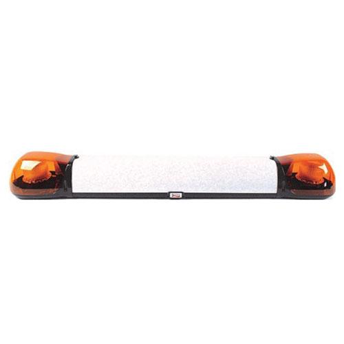 Britax Aerolite 1250mm Daul voltage 2 LED amber Lightbar - PN:A6762.100.DV