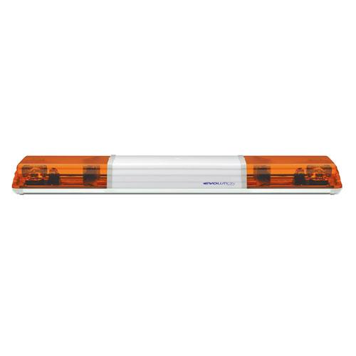 Vision Alert 1372mm 2 Rotators + STI + Illuminated Centre 12v Amber 60 Series Lightbar - PN:608.3A01.ACAA