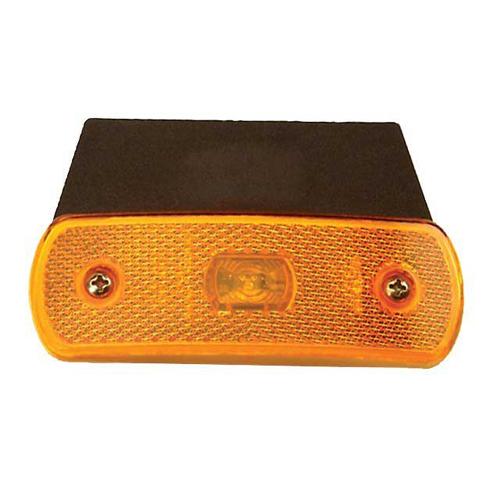 THQ03 LED 24v Side Amber Marker Light