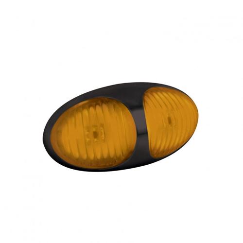 LED Autolamps 37 Series 12/24v Amber LED Side Marker PN: 37AM2P