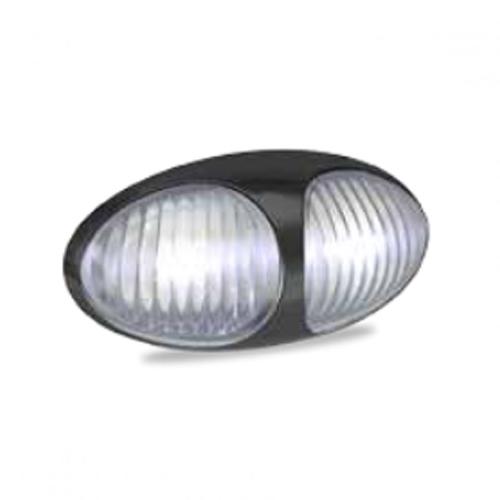 LED Autolamps 37 Series 12/24v White LED Side Marker PN: 37WM2P