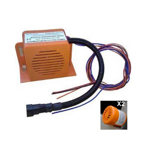 "SIDEMINDER + 2 Slave units 12/24v Voice Alarm ""Turning Left"" PN: AVSM154CLH"