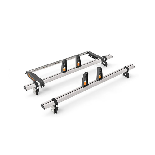 Ford Custom Twin Door L1,H1 2 x Vecta Roof Bars With Vecta Roll 2014 >PN: HS25-25 VR