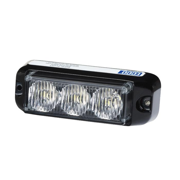 Vision Alert 3736 Series  12/24V Amber 3 Way LED Module  PN3736A