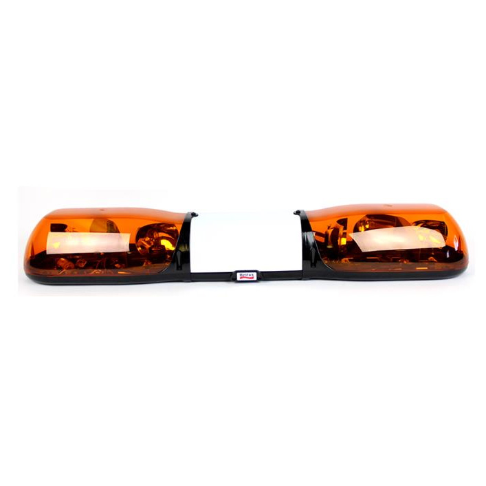 Britax Aerolite 1000mm 12v 4 Rotator + Illuminated Centre Amber Lightbar - PN:A6234.200.12V
