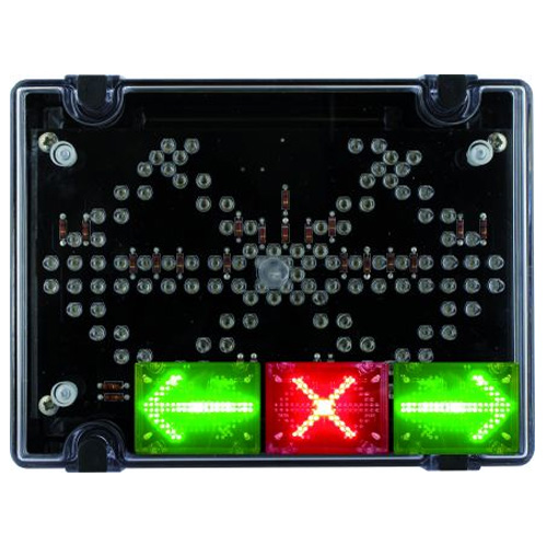 Deegee IPN/001 115Vac Cross & Arrows Inducator - IPN/AC/115/LED/001/R/G