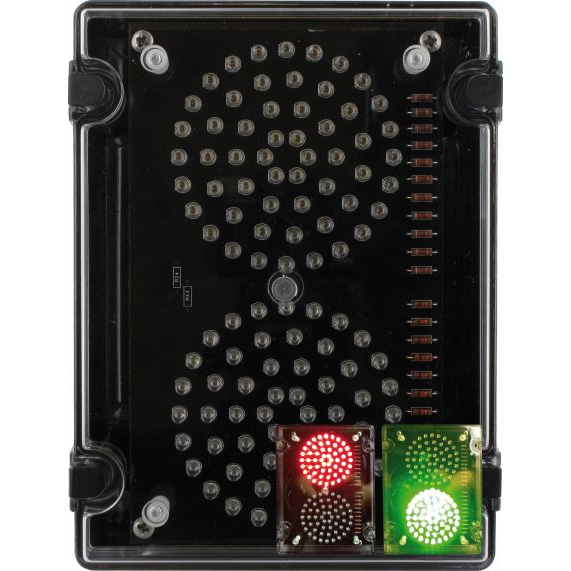 Deegee IPN/002 115Vac Traffic Management Signal - IPN/AC/115/LED/002/R/G