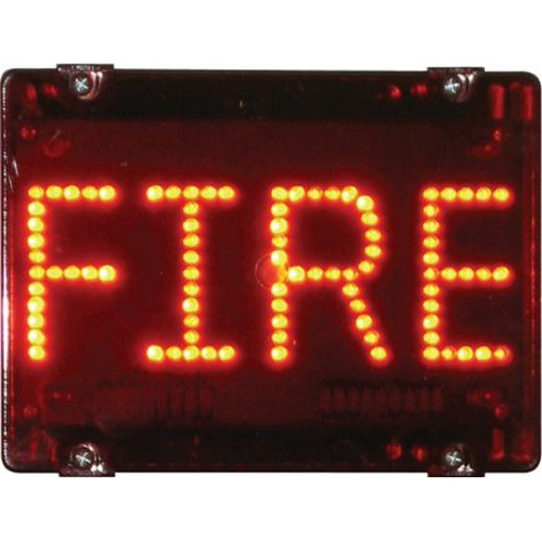 Deegee IPN/003 Series 115Vac Fire Management Signal - IPN/AC/115/LED/003/R
