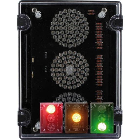 Deegee IPN/018 24Vdc Traffic Lights - IPN/DC/24/LED/018/RAG