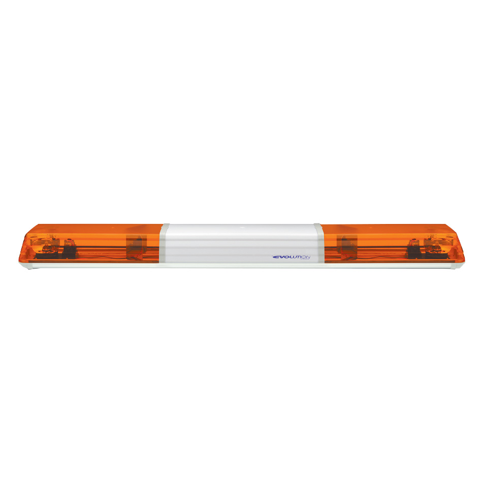 Vision Alert 1500mm 2 Rotators + Illuminated Centre 24v Amber lightbar PN: 605.3A02