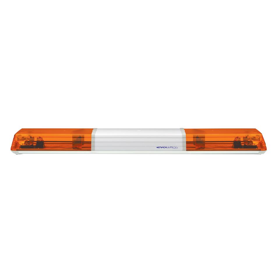 Vision Alert 1500mm 2 Rotators + Illuminated Centre 12v Amber lightbar PN: 605.3A01