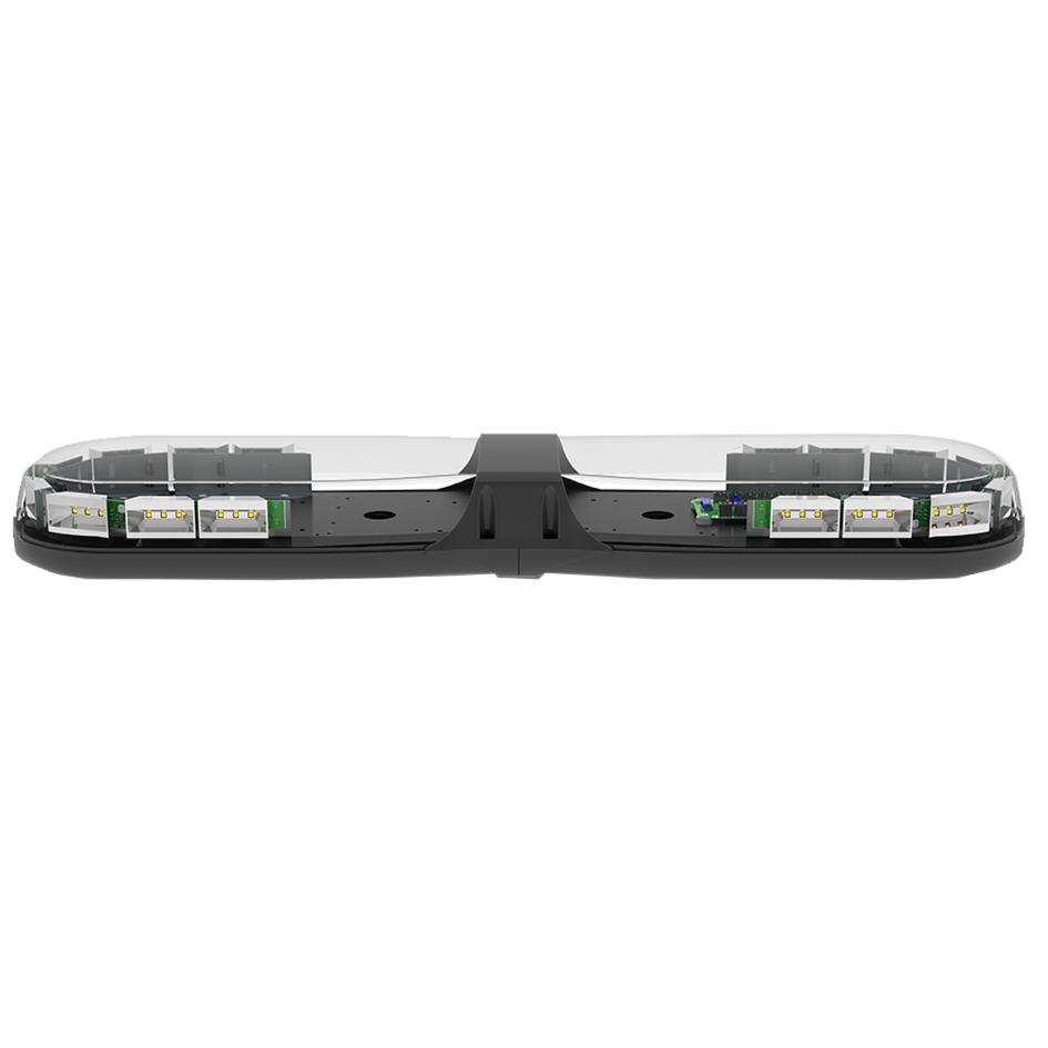 ECCO 13 Series R65 770mm 16 Mod 12/24v LED Amber Lightbar PN: 13-00010-e