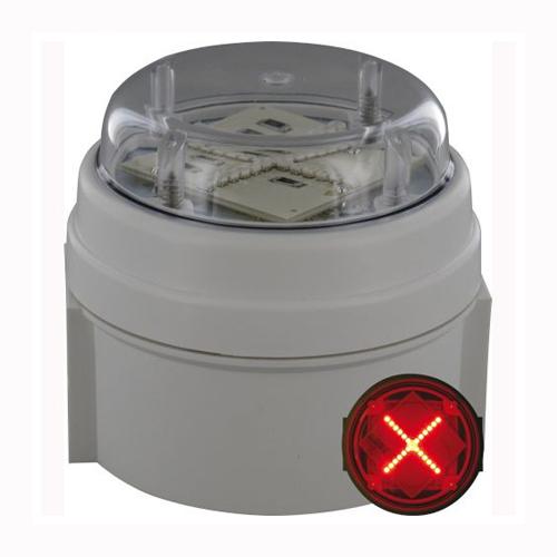 Deegee IPC/010 230Vac LED Red Cross Indicator: PN: IPC/AC/230/LED/010/R