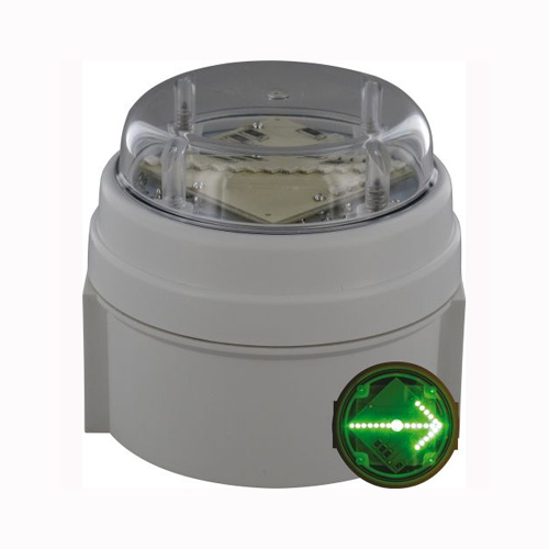 Deegee IPC/012 115Vac LED Green Cross Indicator: PN: IPC/AC/115/LED/012/G