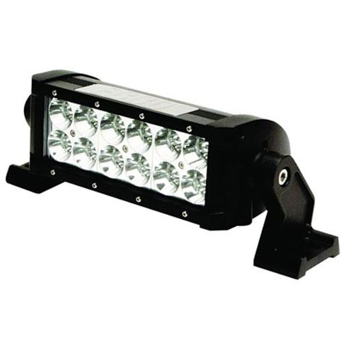 "ECCO 8""/203mm 1950 lumens Flood Beam 12 LED Double Row Utility Bar PN: EW3208F"