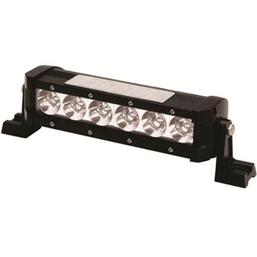 "ECCO 8""/203mm1000 lumens Spot Beam 6 LED Single Row Utility Bar PN: EW3108-S"