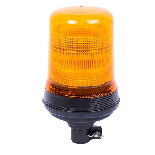 Vision Alert Amber Static Flash CAP168 DIN Pole Airport 24v Beacon (522.002) High profile