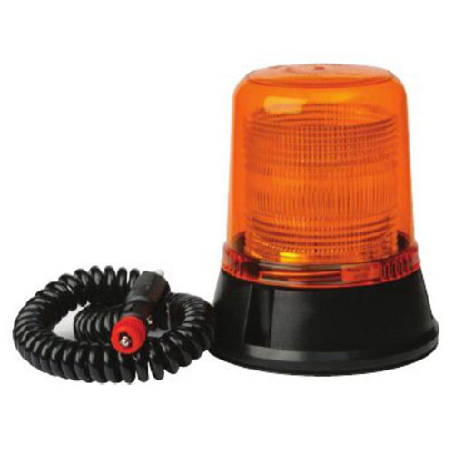 Britax B334 12v Amber Static Flash Magnetic Airport Beacon PN: B334.00.12v
