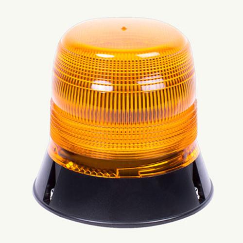 Vision Alert LED Reg65 3 Bolt Fixing 10V-30V 120FPM Amber Beacon PN:V11050