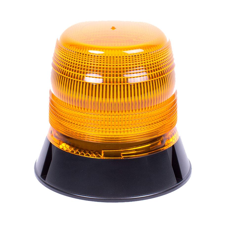 Vision Alert LED Reg65 1 Bolt Fixing 10V-30V 120FPM Amber Beacon PN:V11052
