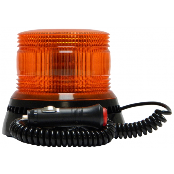 LAP 10-30v REG65 Mag Mount LFB Series Amber LED Beacon PN:LFB020