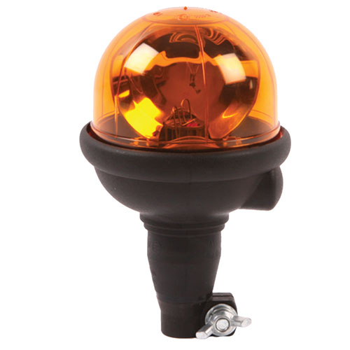 Vision Alert Agri Flexi Din Pole 12 or 24v Amber Beacon PN:304.000