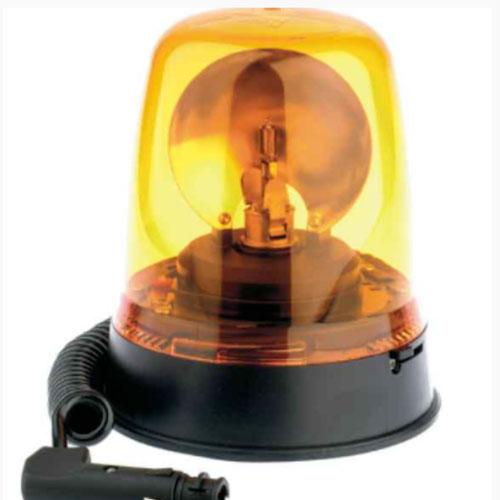 Britax 394 Magnetic 12v Amber Rotating Beacon PN: 394.00.12v