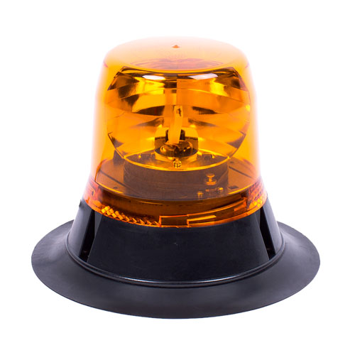 Vision Alert Mag70 24v Rotating Amber Beacon - [PN:400.002] Low profile