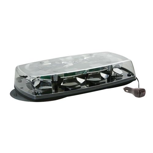 Vision Alert Reflex Magnetic Clear Lens LED Mini Lightbar PN:: 5565CA-MAG