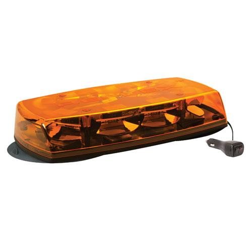 Vision Alert Reflex Magnetic Amber Lens LED Mini Lightbar PN:: 5565A-MAG