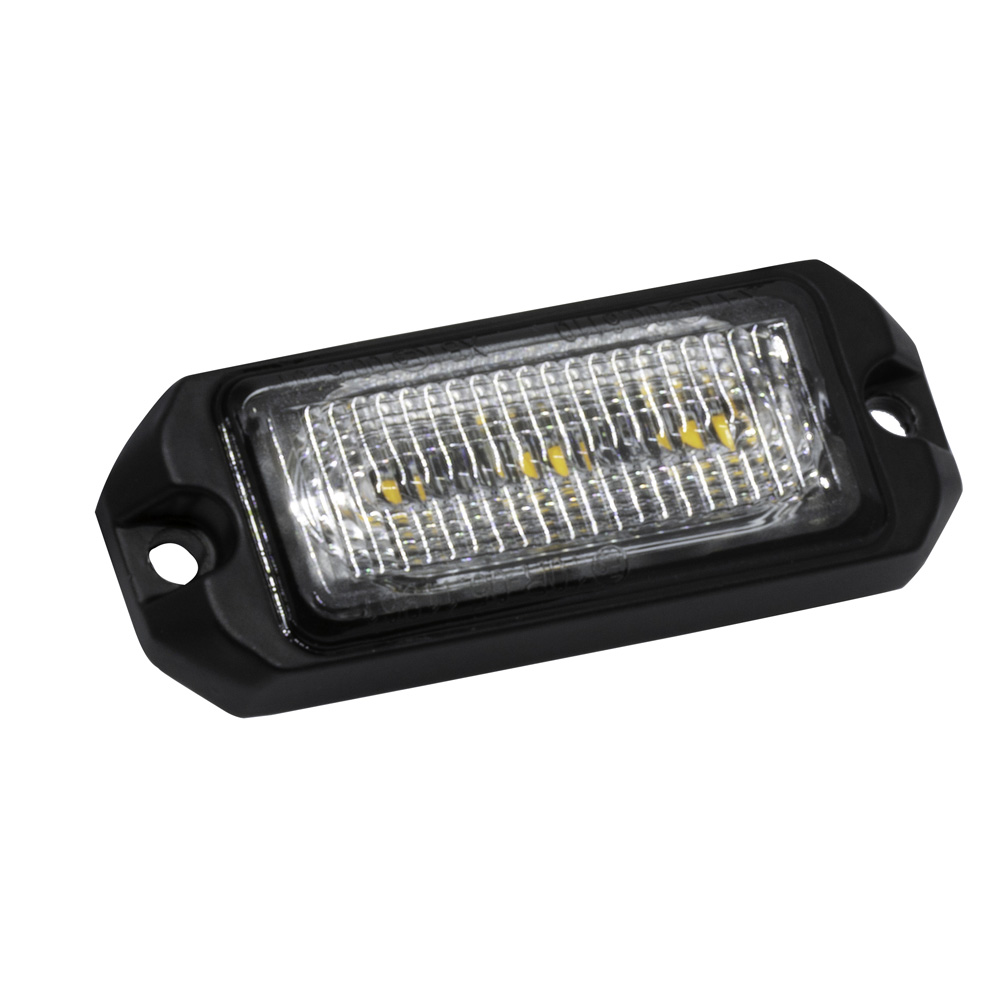 LAP Electrical VLED 3 way R65 Amber Warning Light PN: VLED3A