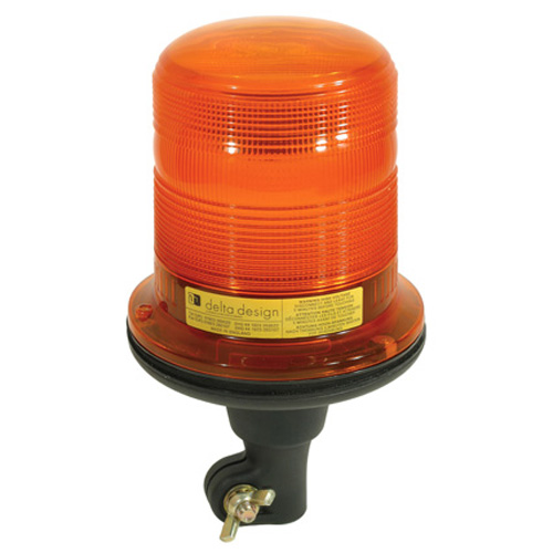Delta Design Flexi Pole fixing Lunar Star 12/24v Amber Xenon Beacon PN:493042