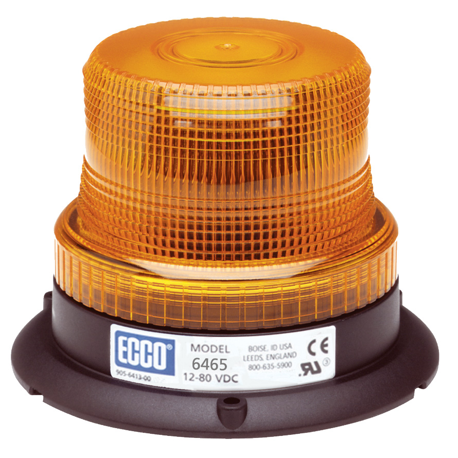 Vision Alert Three Bolt Fixing Amber Industrial Beacon PN: 6465a