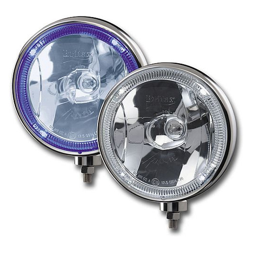 BRITAX L28.01.12v 8'' Blue Tinted Glass Driving Lamp with 'Angel eyes' PN: L28.01.12v