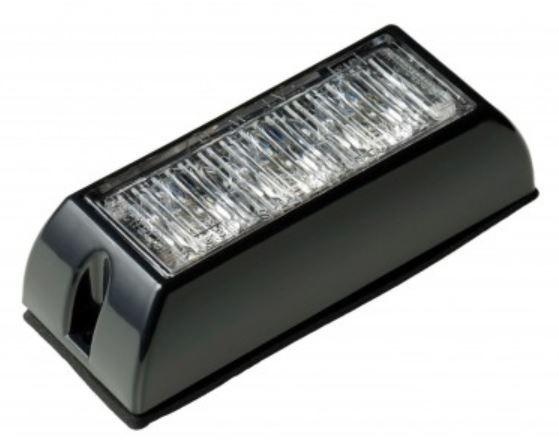 LED Autolamps 12/24v Amber 3 LED Strobe  PN: LED3DVA