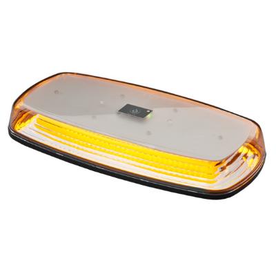 LAP Electrical R65 Rechargeable Amber Magnetic Mini LED Lightbar PN: LAP1284AC/BAT