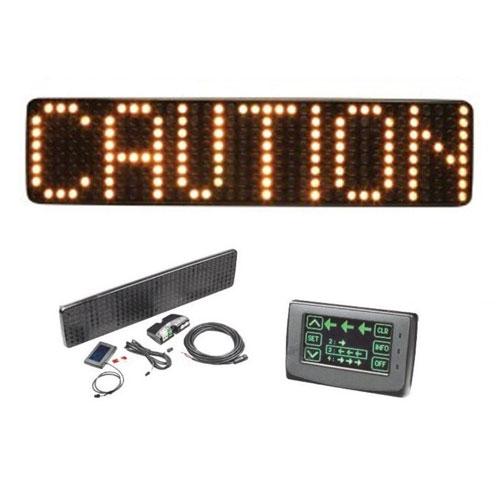 Code3 CD0012 Amber LED Matrix Message Master Warning Sign PN: CD0012A
