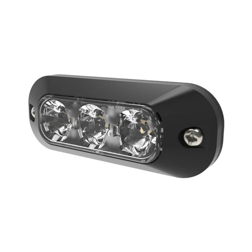ECCO Amber 3 LED Surface Mount Directional Light PN: ED3703A