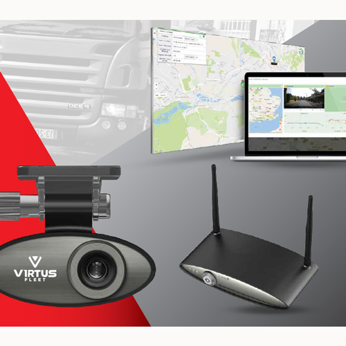 Virtus Zeus 4G live streaming and vehicle tracking camera solution PN:Virtus Zeus