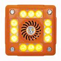 Alarmalight 4 pod AMBER LEDs with Speech and tonal alarm PN:AVAL415CO