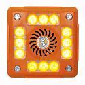 Alarmalight 4 pod AMBER LEDs with Speech and tonal alarm PN:AVAL415CO