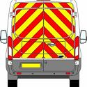Full Rear Prismatic Chapter 8 Chevron Kit for Large Van PN: L_VAN_Full