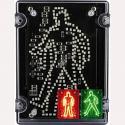 Deegee IPN/022 230Vac LED Walking/Standing Pedestrian Signal: IPN/AC/230/LED/002/R/G
